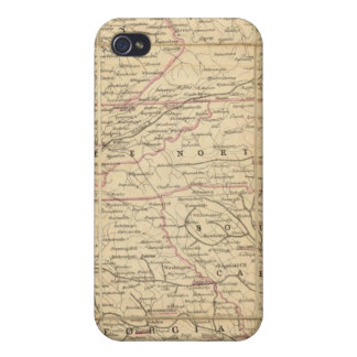 Map of The Seat of Civil War In America Case For The iPhone 4