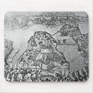 Map of the Siege of Malta in 1565 Mouse Mat