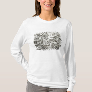 Map of the Siege of Malta in 1565 T-Shirt