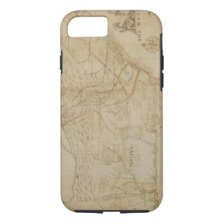 Map of the Southeastern part of North America, 172 iPhone 8/7 Case
