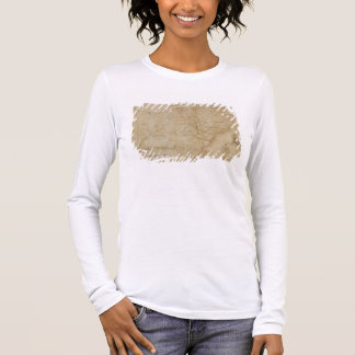 Map of the Southeastern part of North America, 172 Long Sleeve T-Shirt