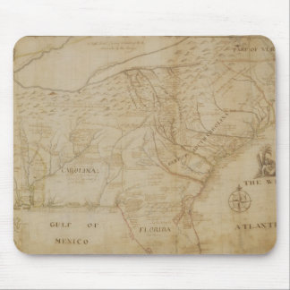 Map of the Southeastern part of North America, 172 Mouse Mat