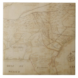 Map of the Southeastern part of North America, 172 Tile