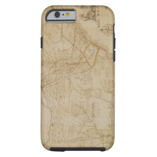 Map of the Southeastern part of North America, 172 Tough iPhone 6 Case