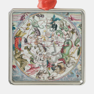 Map of the Southern Hemisphere 2 Christmas Ornament