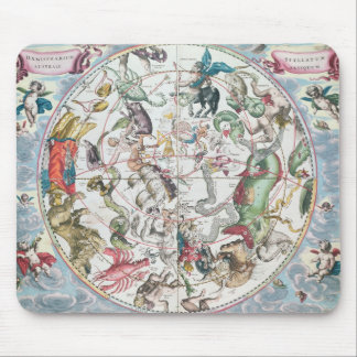 Map of the Southern Hemisphere 2 Mouse Mat