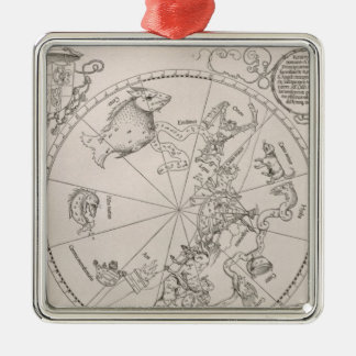 Map of the Southern Sky Christmas Ornament