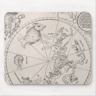Map of the Southern Sky Mouse Mat
