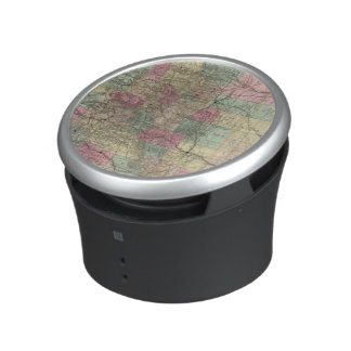 Map of the State of Colorado Bluetooth Speaker