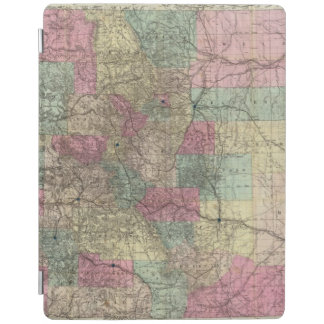 Map of the State of Colorado iPad Cover