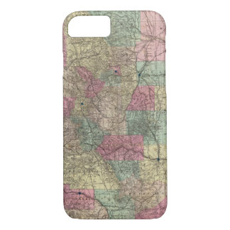 Map of the State of Colorado iPhone 8/7 Case
