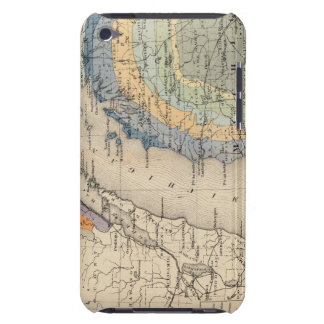 Map of the State of Michigan iPod Touch Cover