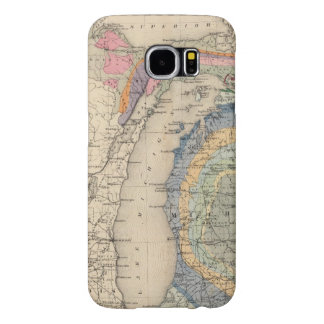 Map of the State of Michigan Samsung Galaxy S6 Cases