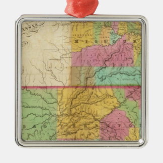Map of the State of Missouri Christmas Ornament