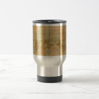 Map of the State of Pennsylvania in 1792 Travel Mug