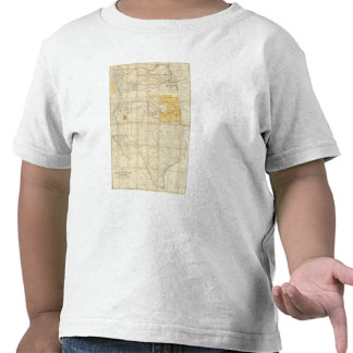 Map Of The States Of Kansas And Texas Tees