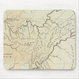 Map of The Tennassee sic Government Mouse Mat