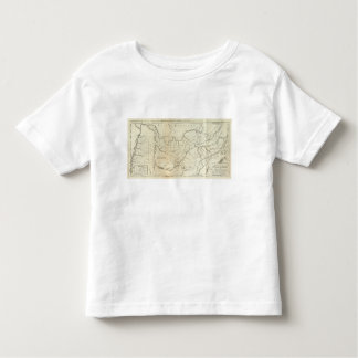 Map of The Tennassee sic Government Toddler T-Shirt