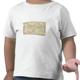 Map of the Tennassee sic Government T Shirts