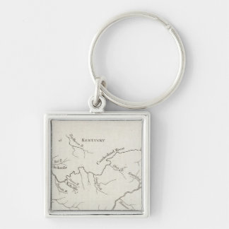Map of the Tennessee Government Key Ring