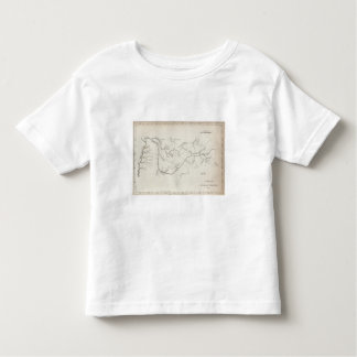 Map of the Tennessee Government Toddler T-Shirt
