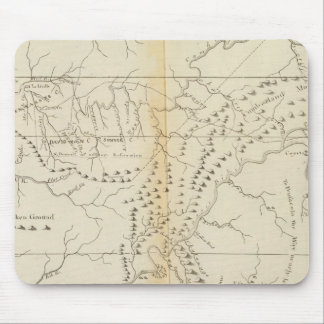 Map of The Tennessee Mouse Mat