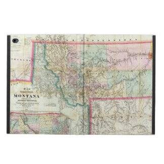 Map Of The Territory Of Montana Powis iPad Air 2 Case
