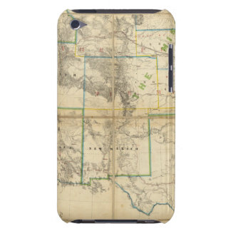 Map Of The Territory Of The United States 2 Barely There iPod Cases