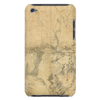 Map of The Territory of The United States Barely There iPod Cover