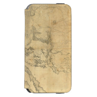 Map of The Territory of The United States Incipio Watson™ iPhone 6 Wallet Case
