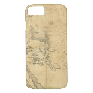 Map of The Territory of The United States iPhone 8/7 Case