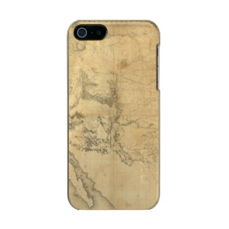 Map of The Territory of The United States Incipio Feather® Shine iPhone 5 Case