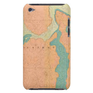 Map Of The Uinkaret Plateau iPod Touch Case