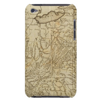 Map of the United States 3 iPod Case-Mate Case