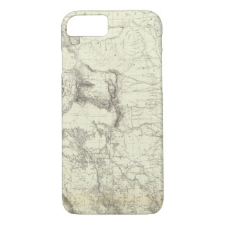 Map Of The United States 4 iPhone 8/7 Case