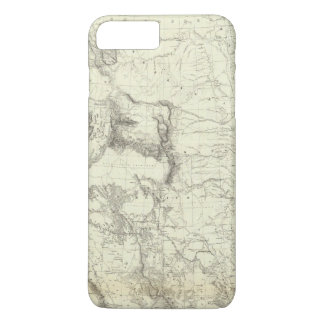 Map Of The United States 4 iPhone 8 Plus/7 Plus Case