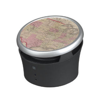 Map of the United States 5 Bluetooth Speaker