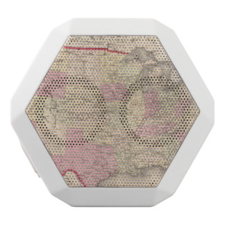 Map of the United States 5 White Boombot Rex Bluetooth Speaker