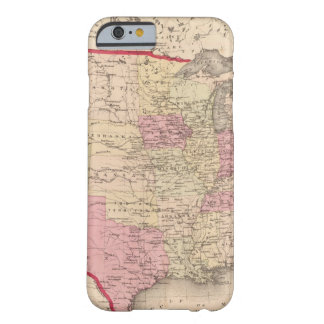 Map of the United States 5 Barely There iPhone 6 Case