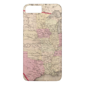 Map of the United States 5 iPhone 8 Plus/7 Plus Case