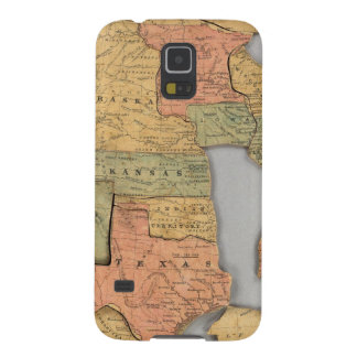 Map of the United States and Canada Cases For Galaxy S5