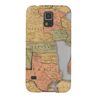 Map of the United States and Canada Galaxy S5 Case