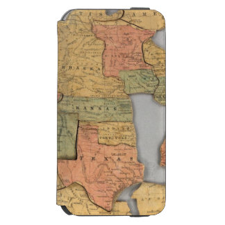 Map of the United States and Canada Incipio Watson™ iPhone 6 Wallet Case