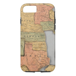 Map of the United States and Canada iPhone 8/7 Case
