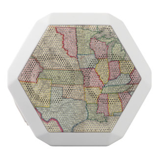Map Of The United States, And Territories White Boombot Rex Bluetooth Speaker