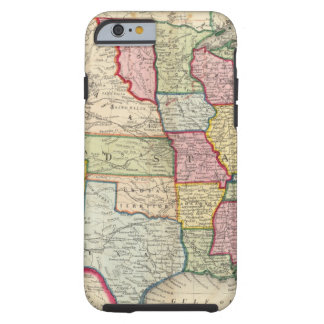 Map Of The United States, And Territories Tough iPhone 6 Case