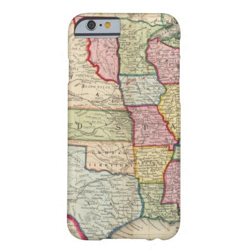 Map Of The United States, And Territories iPhone 6 Case