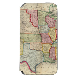 Map Of The United States, And Territories Incipio Watson™ iPhone 6 Wallet Case