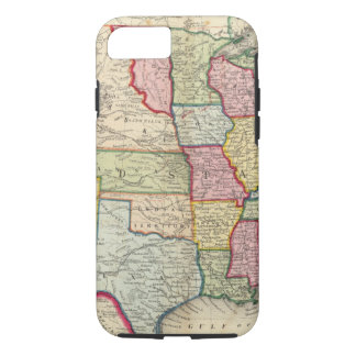 Map Of The United States, And Territories iPhone 7 Case