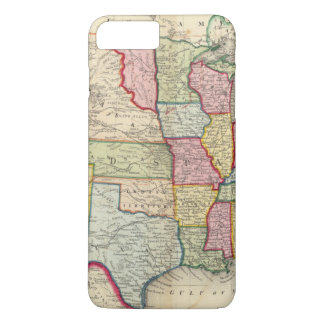 Map Of The United States, And Territories iPhone 8 Plus/7 Plus Case